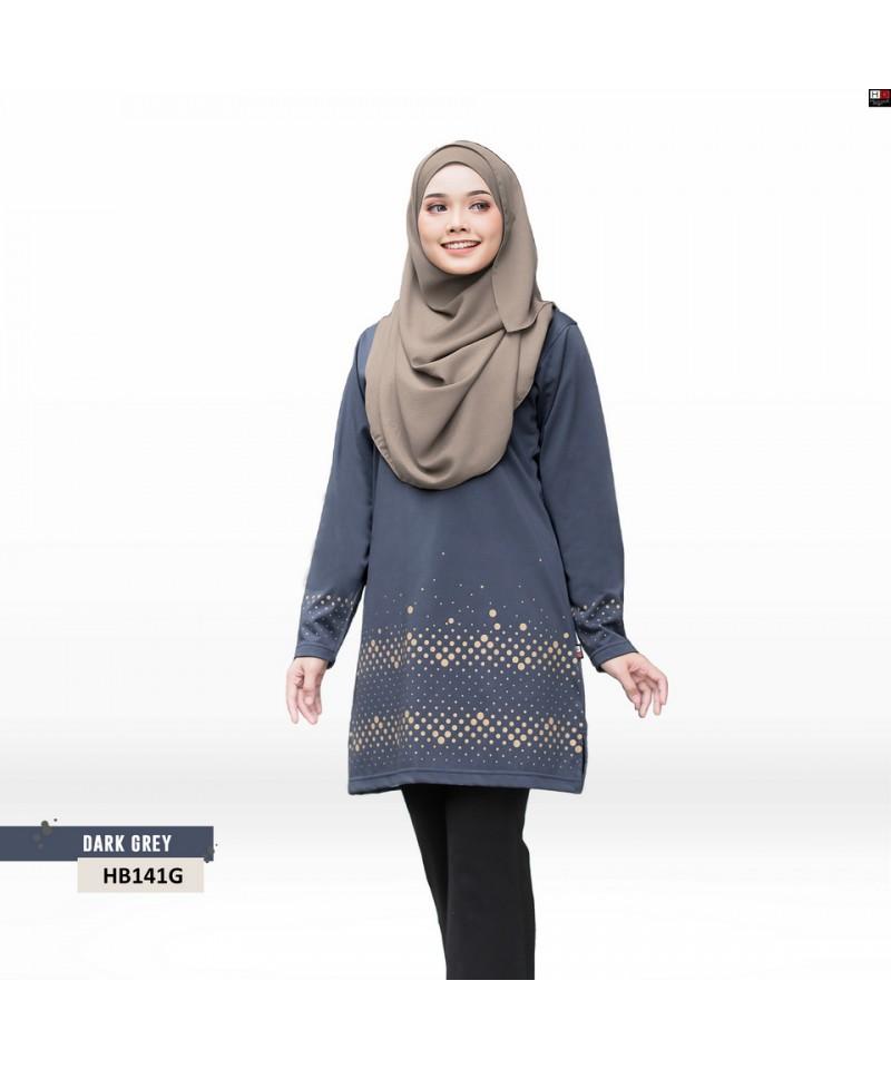 HB141G - Tshirt Muslimah Humaira