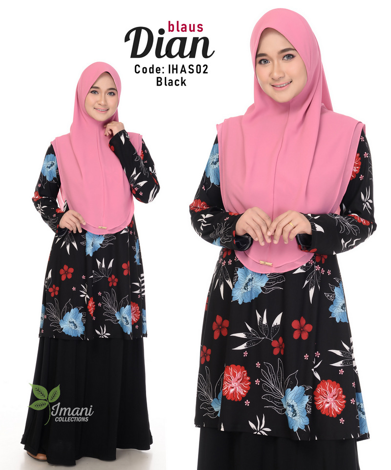 IHAS02 - Dian Blouse (Printed Series)