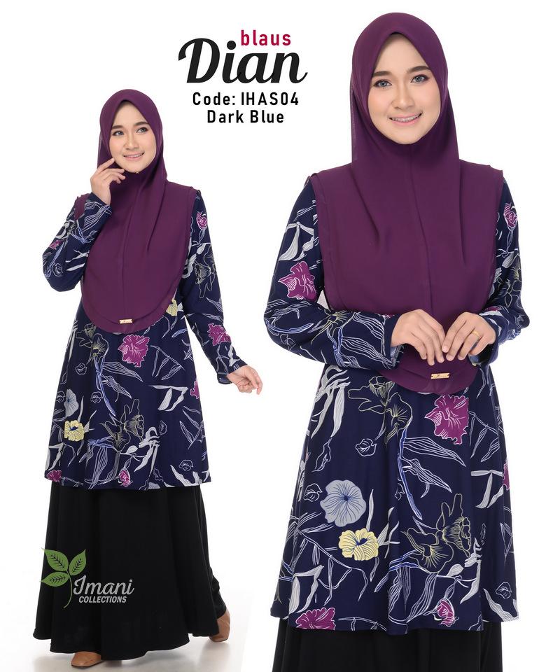 IHAS04 - Dian Blouse (Printed Series)