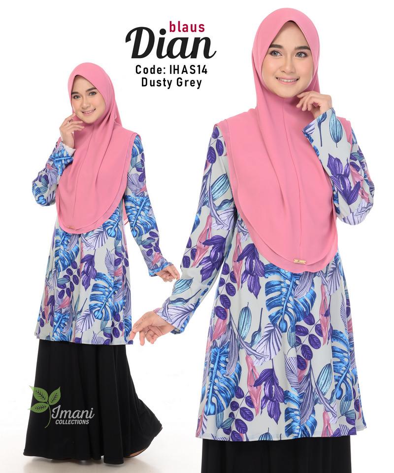IHAS14 - Dian Blouse (Printed Series)