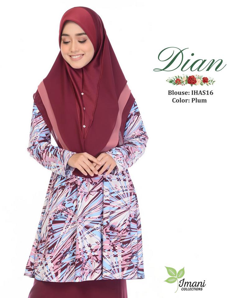 IHAS16 - Dian Blouse (Printed Series)